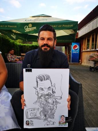 Caricaturi la evenimente - Adrian Bighei