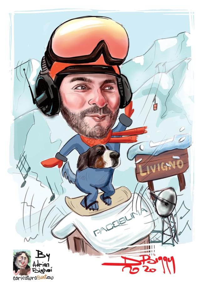 Caricaturist - Adrian Bighei, caricaturi la comanda