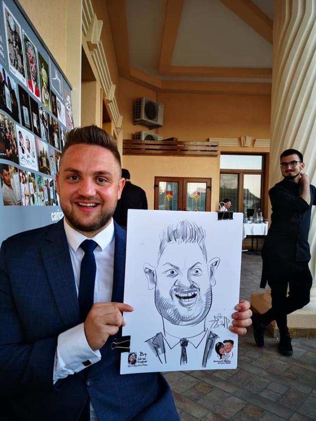 Caricaturi la evenimente by Bighei Adrian, Satu Mare