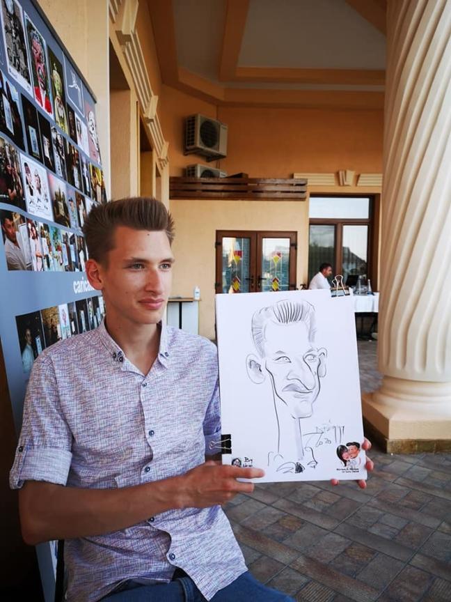 Caricaturist evenimente by Adrian Bighei