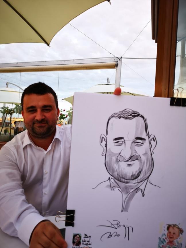 Caricaturist la evenimente