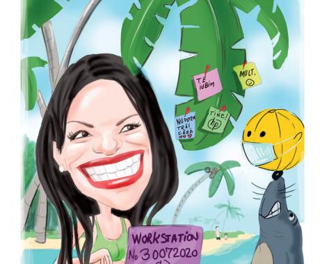 Comanda caricatura online dupa fotografie