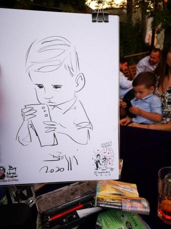 Caricaturist la nunti, botezuri, evenimente