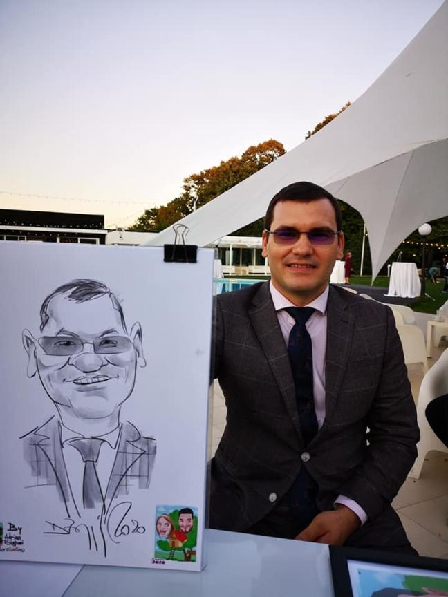 Caricaturi si portrete la comanda by Bighei Adrian