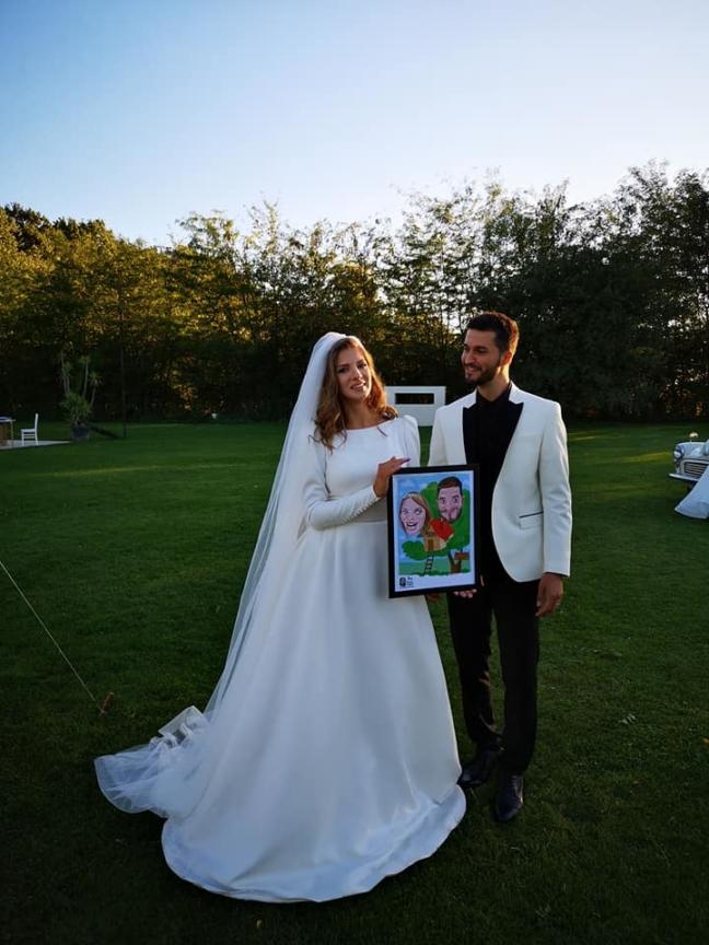 Caricatura - cadoul ideal de nunta