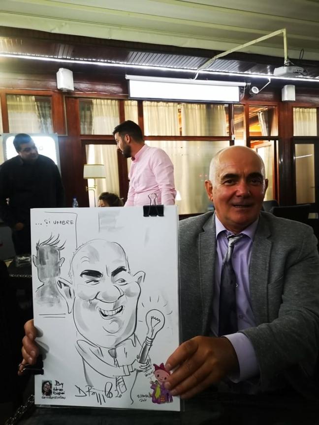 Caricaturi la minut by Adrian Bighei