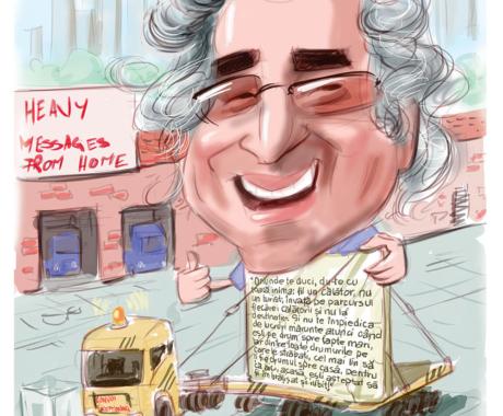 Caricaturi digitale, personalizate la comanda
