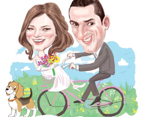 Caricatura – cadoul ideal pentru aniversarea nuntii tale