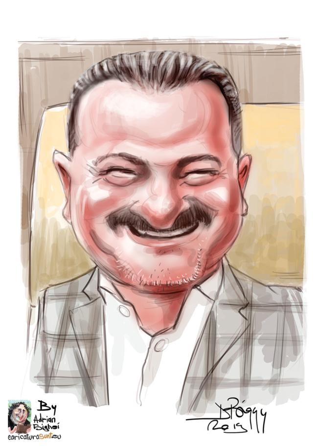 Caricaturi - portret dupa fotografie