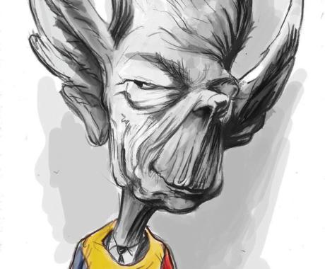 Caricatura – Regele Mihai