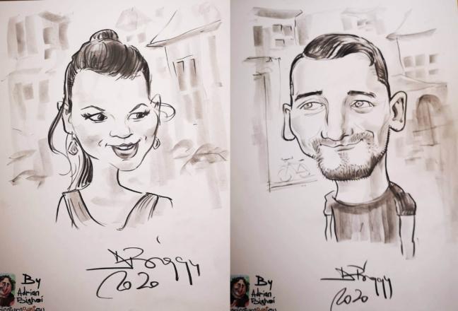 Caricaturi - cadouri pentru cupluri