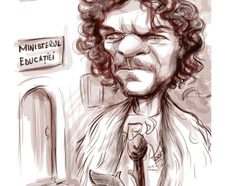 Caricatura Tudor Chirila