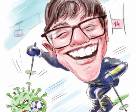 Caricatura digitala personalizata