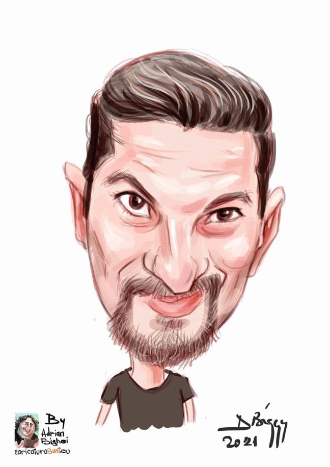 caricatura - portret color