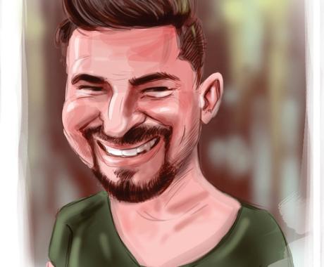 Caricaturi tip portret. Caricaturi digitale. Caricaturi color