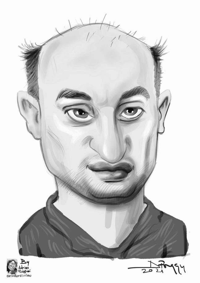 caricatura - portret digitala