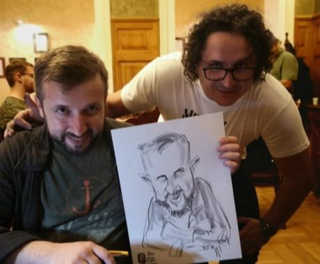 Festival Caricaturi la Centrul Cultural Alexandru Marghiloman, Buzau