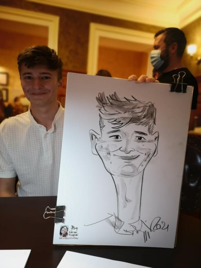 caricaturi - portret
