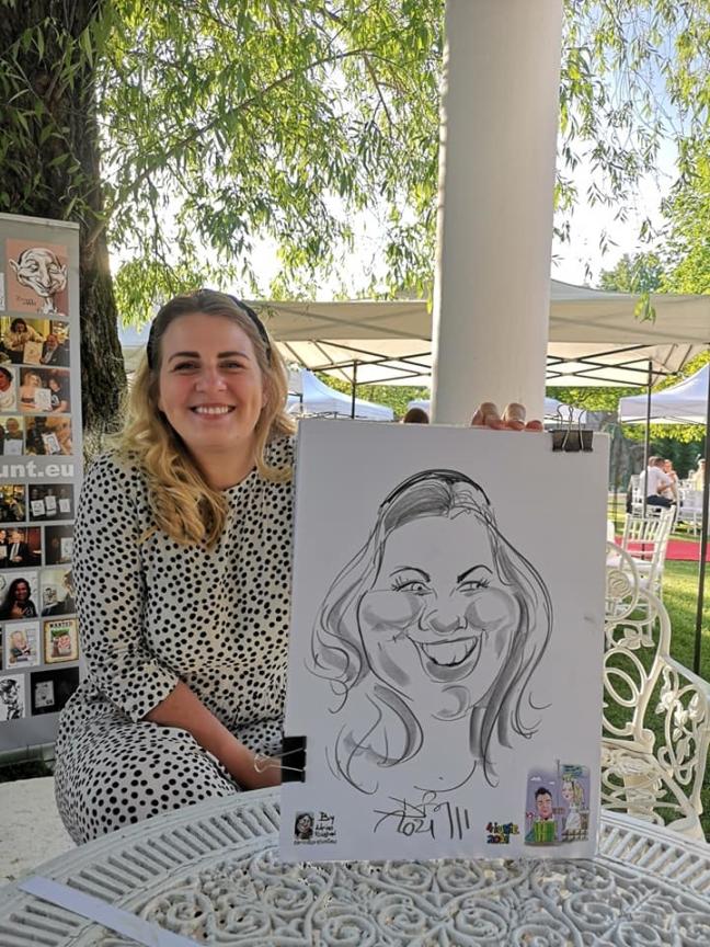 caricaturist la nunta