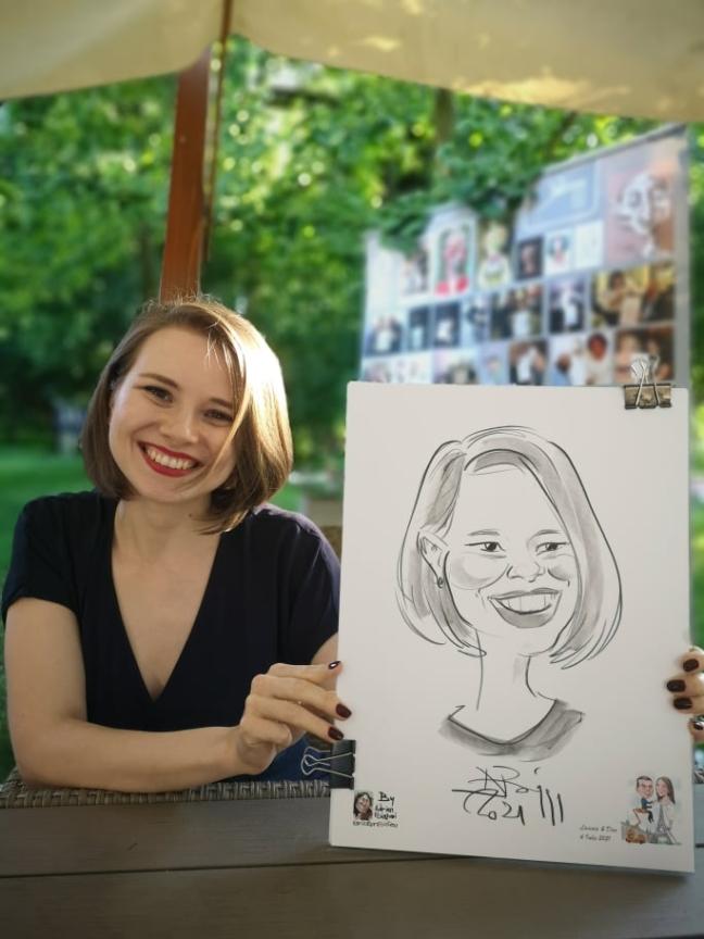 caricaturi la evenimente private