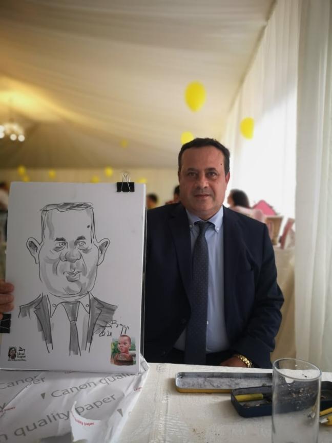caricaturi portret