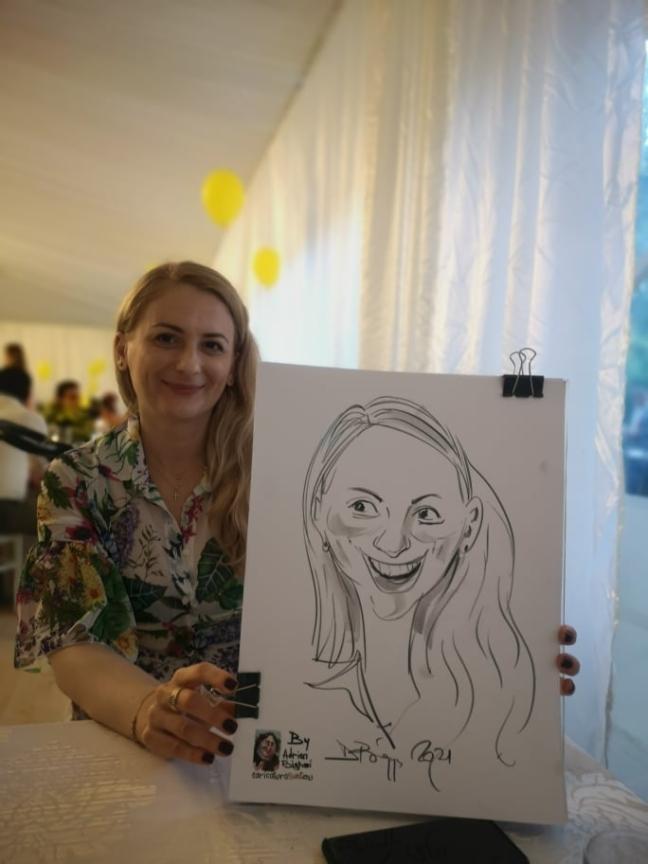caricaturisti la evenimente