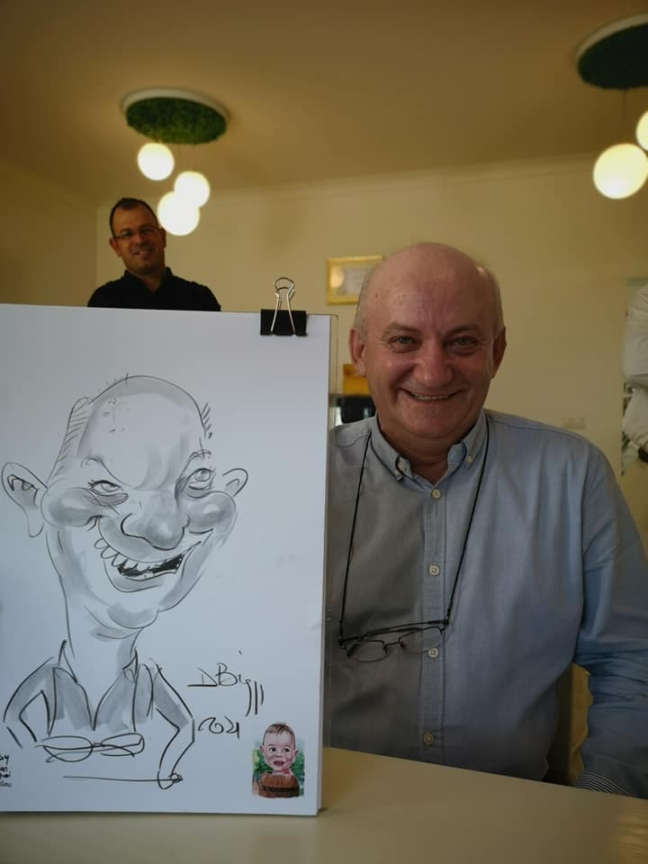 caricaturi live