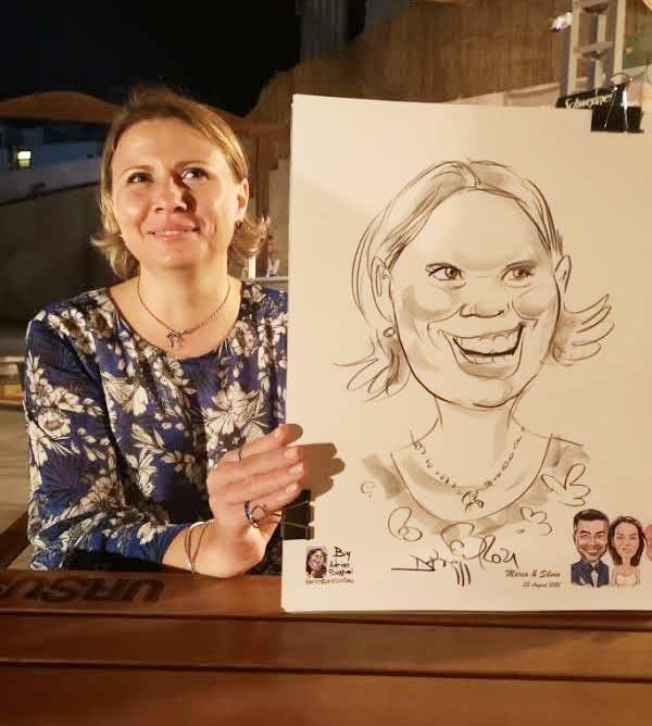 caricaturi cu zambet