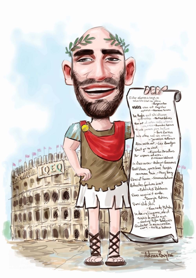 caricatura color digitala